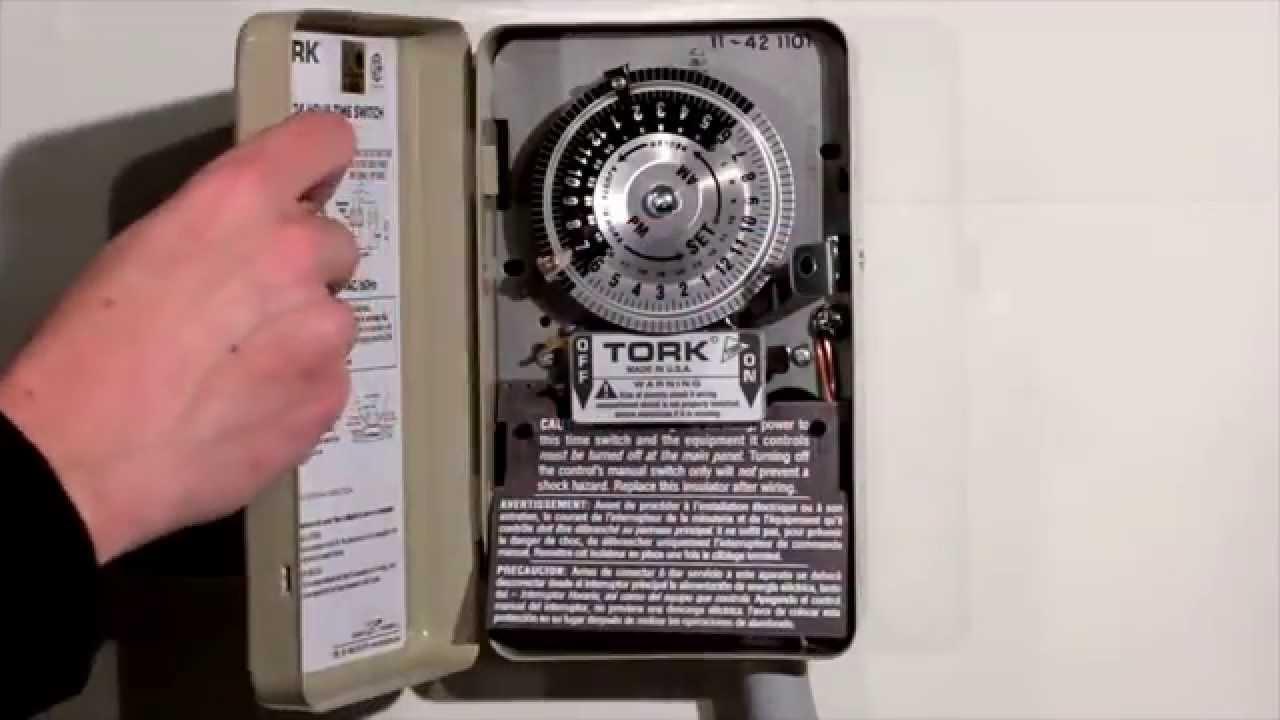 timing light wiring diagram tork   1100 series time switch operation youtube  tork   1100 series time switch operation youtube