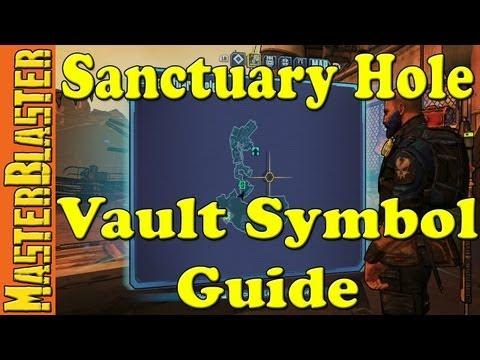 Borderlands 2 Sanctuary Hole Cult Of The Vault Symbol Challenge Location