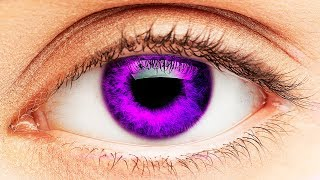 7 Rare Eye Colors People Can Have