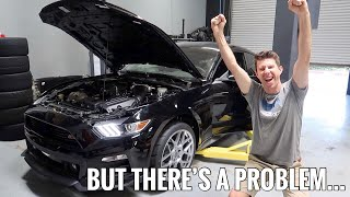 Supercharged Mustang GT FIRST START UP!!!