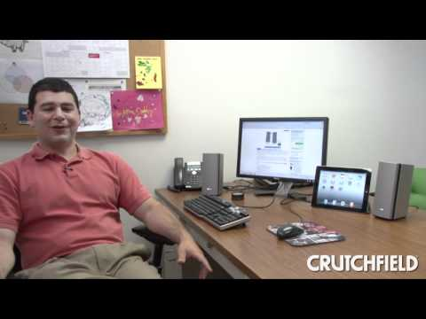 Bose Companion 20 Multimedia Speaker System | Crutchfield Video