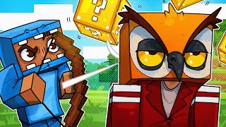 LUCKY BLOCK DEATHRUN & LUCKY BOW BATTLE! - MINECRAFT