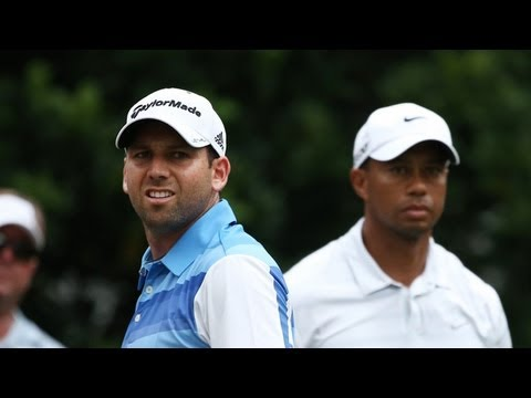 Tiger Woods's blunt response to Sergio García question