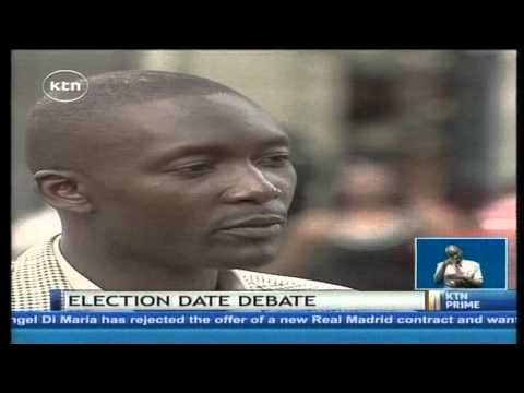 Ugenya MP David Ochieng is seeking to have election date changed...