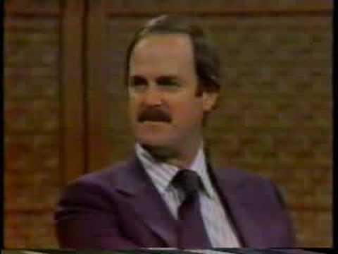 John Cleese on the Dick Cavett Show, 1979, part 1 of 6
