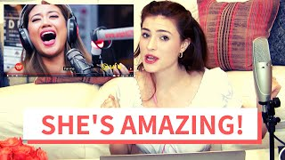 "Voice Teacher Reacts to Morissette Amon ""Never Enough"" on The Wish Bus"