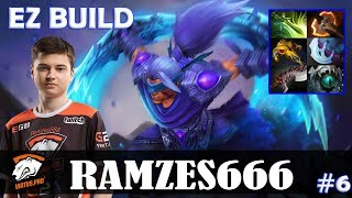 Ramzes - Anti-Mage Safelane | EZ BUILD | Dota 2 Pro MMR Gameplay #6