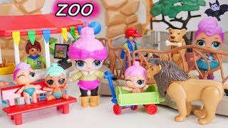 LOL Surprise Doll New Baby Animals at Playmobil Zoo
