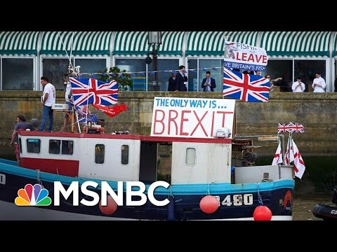 The Stakes For Britain Leaving The European Union | Andrea Mitchell | MSNBC