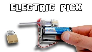 ✔ How To Make An Electric Pick
