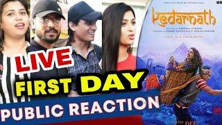 Kedarnath Live Public Reaction & Review, Shushant Singh Rajput, Sara Ali Khan,KEDARNATH review,