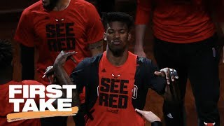 First Take Analyzes Jimmy Butler Trade Between Bulls And Timberwolves   First Take   June 23, 2017
