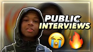 PUBLIC INTERVIEWS ON RANDOM PEOPLE AT THE MALL SHE SAID SHE WOULD KISS...💀