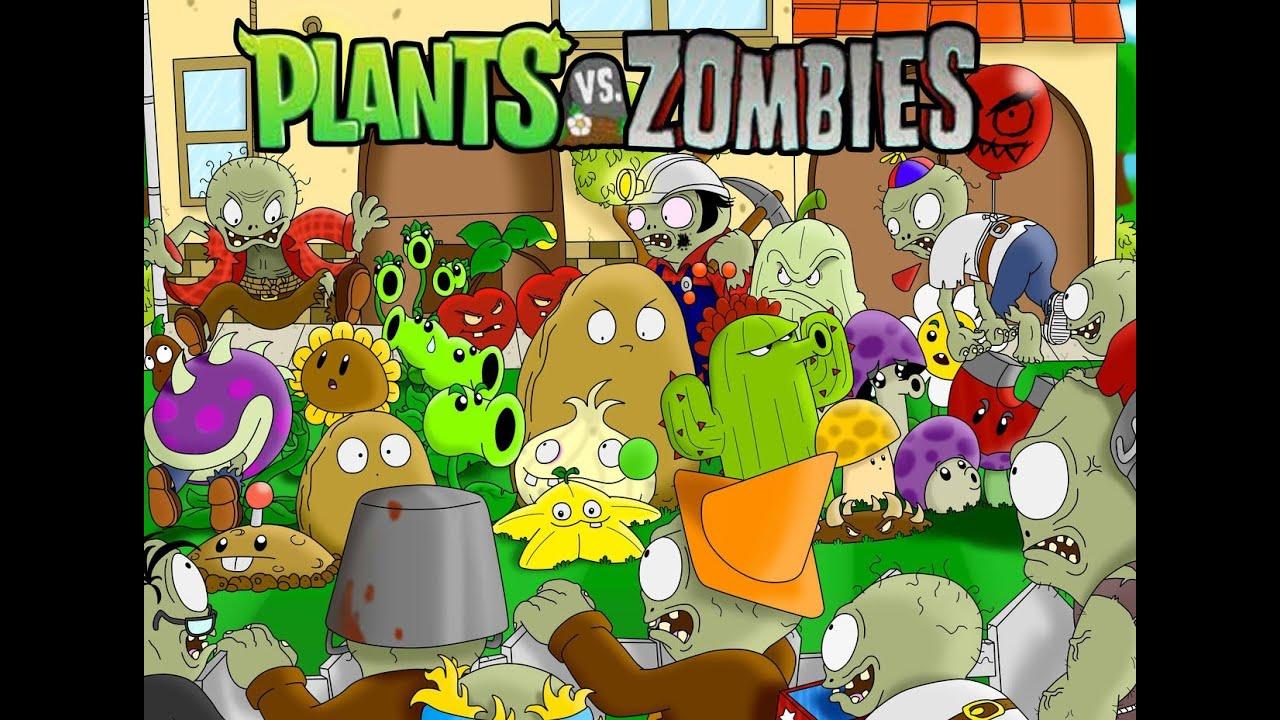 Zombies de Plantas Contra Zombies Plantas Contra Zombies Garden
