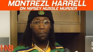 Montrezl Harrell on Nipsey Hussle Death | Postgame Clippers vs Grizzlies | Hoops N Brews