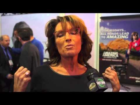 Talking SHOT with Sarah Palin - 2015 SHOT Show