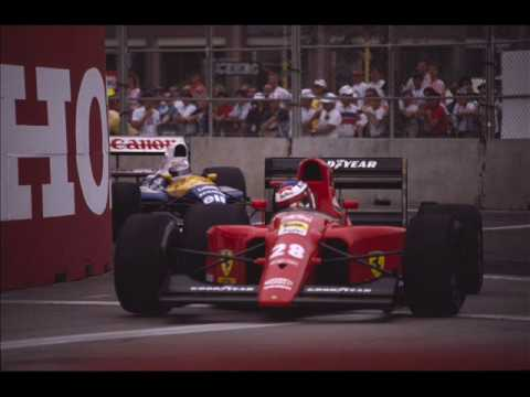 Here's my tribute to Jean Alesi. I hope everybody will enjoy this tribute!Jean Alesi won 1 GP and had a lot of second-third places.