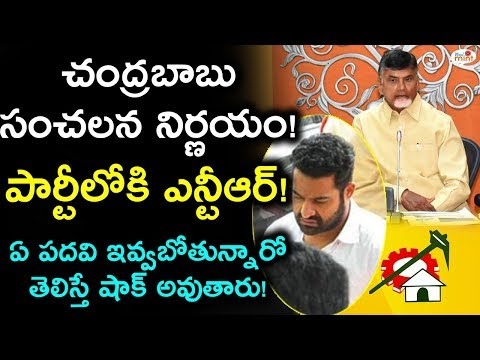 AP CM Chandrababu's SHOCKING DECISION! | Jr.NTR Into TDP | Latest Political Updates | Viral Mint