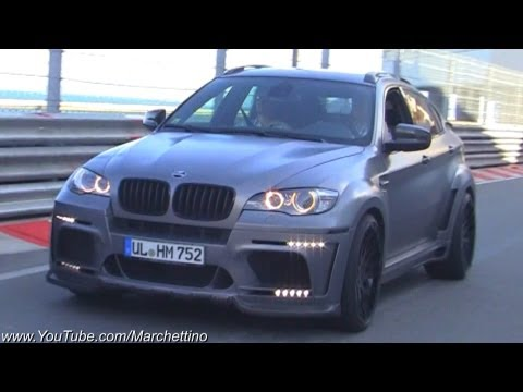 Hamann BMW X6M FAST Accelerations + Police!
