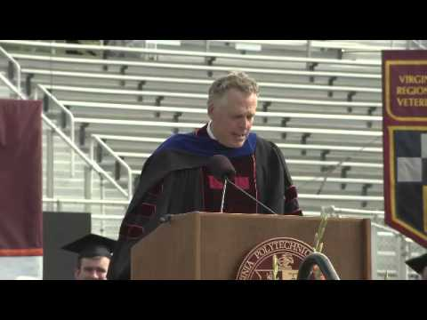Gov. Terry McAuliffe's Commencement Address - Virginia Tech