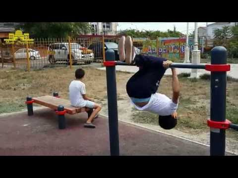 Детский воркаут  - Дербент 2016)) (Street Workout)