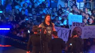 The Undertaker and Roman Reigns Wrestlemania 33 Entrances