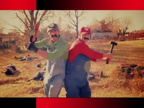SUPER MARIO BROS. vs ZOMBIES in REAL LIFE!
