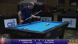 2017 US Bar Table Championships 9-Ball: Ernesto Dominguez vs Shaun Wilkie