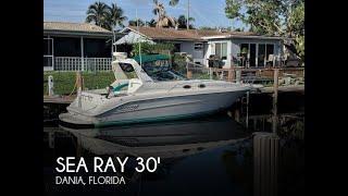 Used 1995 Sea Ray 300 Sundancer for sale in Dania, Florida