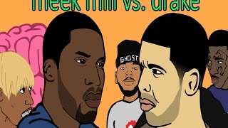 Drake and Meek Mill's Ghostwriter Beef (Narrated by Gucci Mane)