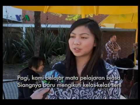 """Remaja Indonesia Menjadi Penyanyi di Amerika - Dunia Kita """"Ep. Seni"""""""