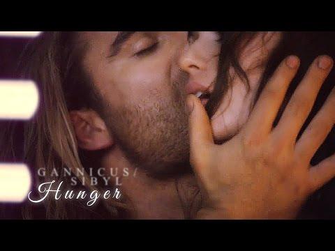 » hunger | gannicus & sibyl.