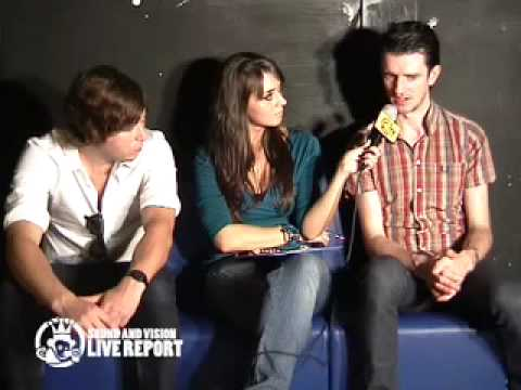 THE RAKES - interview @ New Age Club 6.10.09