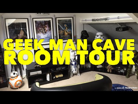 The Geek Man Cave Room Tour #2