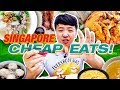 MUST TRY Singapore CHEAP EATS! Hawker Street Food Tour of Sin...