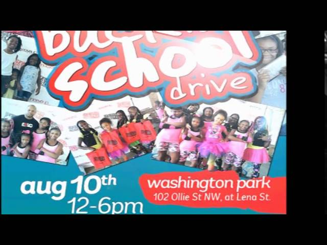 2nd Annual Back 2 School Drive Commercial
