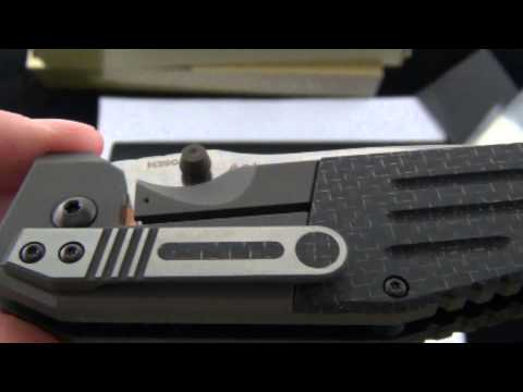 Benchmade Gold Class Dual Action 7505 131 MLK. Demo by BladeOps