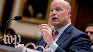 Live Acting Attorney General Matthew Whitaker Testifies Before The House Judiciary Committee