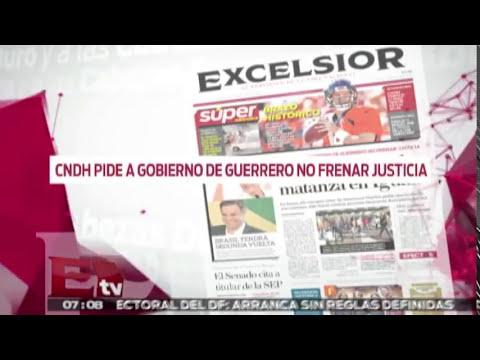 ¿Sicario ordenó la matanza de Iguala? / Duro y a las cabezas