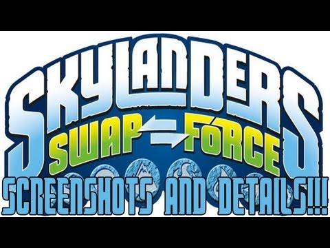 Skylanders: Swap Force - NEW SKYLANDERS GAME ANNOUNCED! (EVERY DETAIL + IMAGES ARE IN THIS VIDEO!)