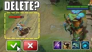 ONE CLICK TO DELETE [Triple Hit One Shot: Geminate Attack + Echo Sabre] Dota 2 Ability Draft