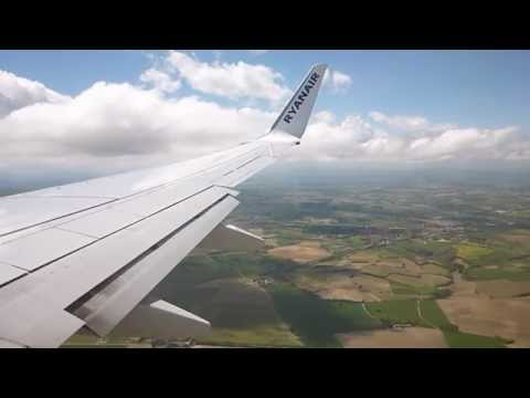 [HD] Ryanair Boeing 737-800 Landing Carcassonne 18/05/2013