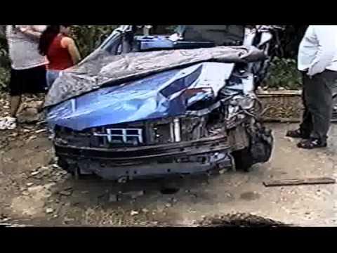Imagenes del Accidente de Polo Montañez el carro que le quito la vida