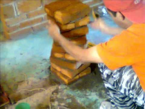 Como hacer un tabique de ladrillo