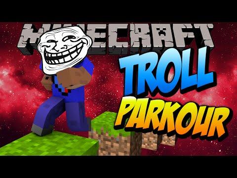 Minecraft TROLL PARKOUR CHALLENGE with Vikkstar (Minecraft Parkour)