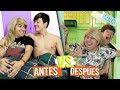 Antes VS después de ser novios | Roger Gonzalez | Mario Aguilar