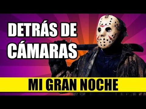 DETRÁS DE CÁMARAS: Mi Gran Noche (Versión Halloween) | QueParió!