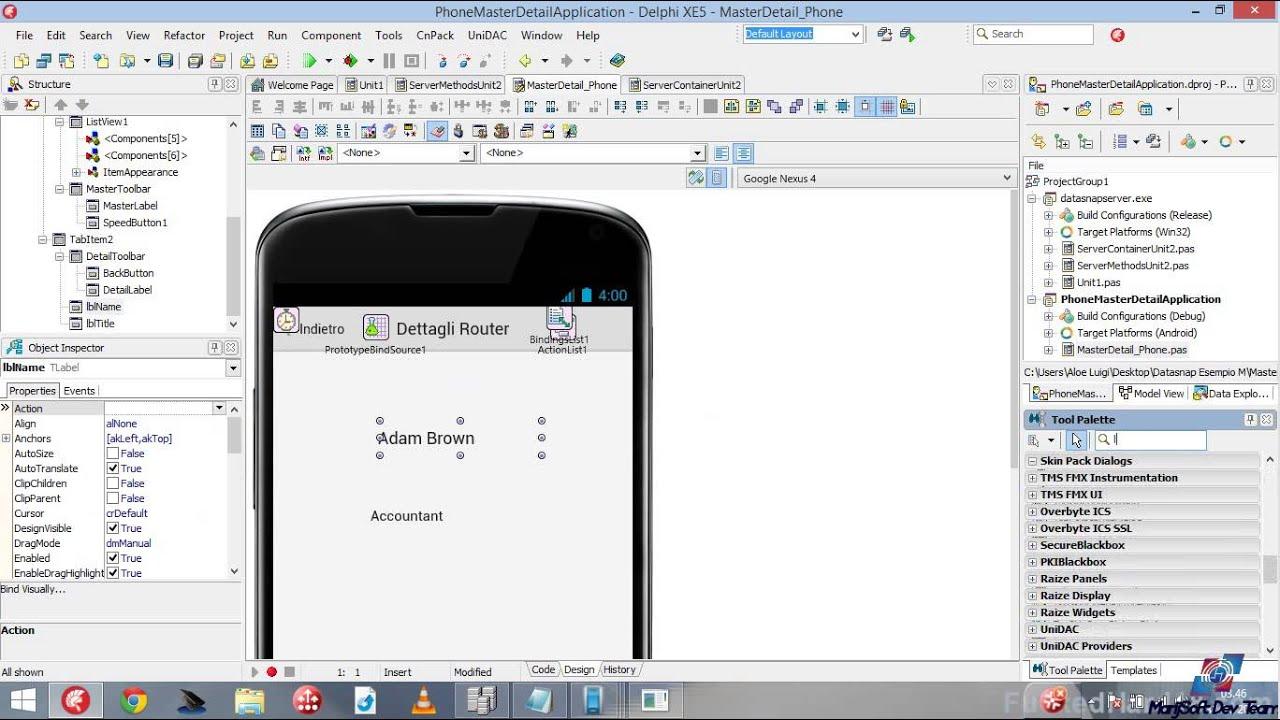 Как сделать приложение на андроид на delphi