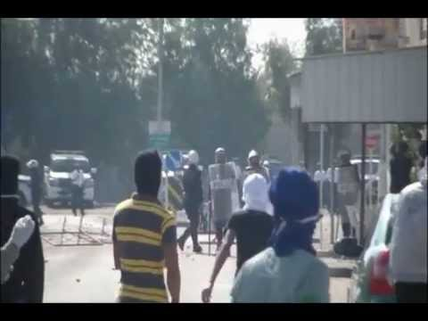 BAHRAIN: Clashes between police and pro-democracy demonstrators - Nov. 25th