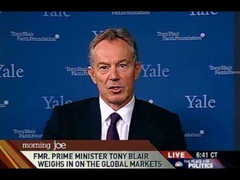 Morning Joe: Tony Blair on religion/Jon Stewart 09/19/08